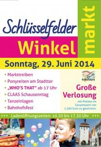 Winkelmarkt 2014_Flyer